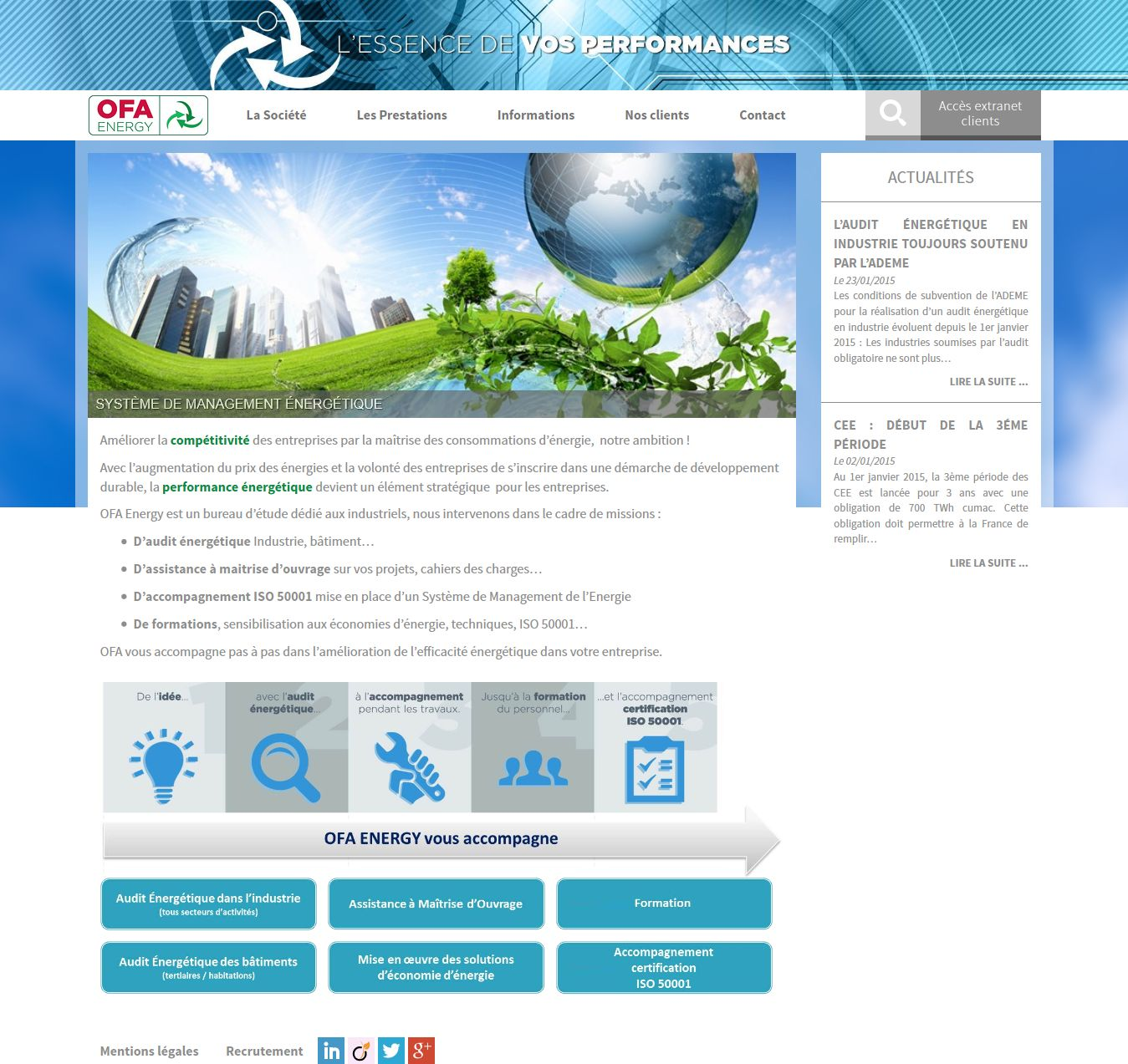 Page d'accueil - OFA energy